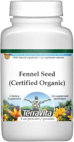 Fennel Seed Certified Organic Powder 1 oz - ZIN: 3 sold out Max 84% OFF 517669 P