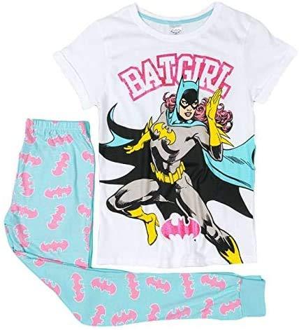 Gereric F4S® Pijama de manga corta para mujer, talla grande, varios colores Murciélago Mujer 44/46 ES