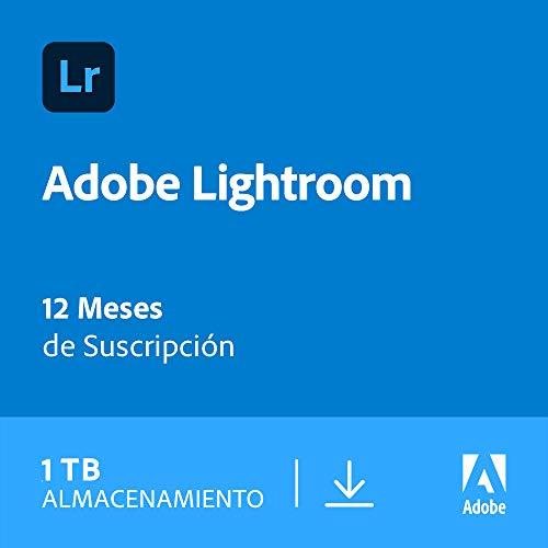 Adobe Lightroom 1TB | 1 Año | PC/Mac | Código de activación enviado por email