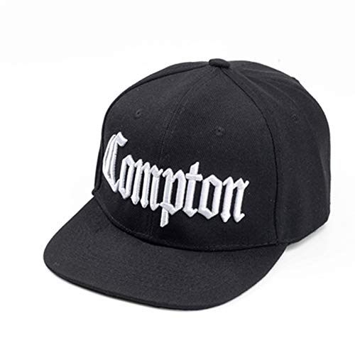 Lianaic Cap Herren Mode Compton Baseballmützen Verstellbarer Strand West Gangsta City Crip Eazy und Skateboard Gorras Planas Hip-Hop-Hysteresenhut