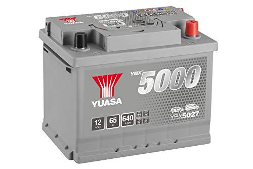 Yuasa - Batterie de démarrage haute performance YBX5027 - Gris argenté