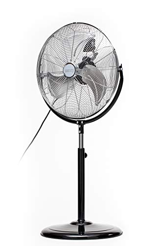 CAMRY CR 7307 Ventilator, 170 W, Schwarz, Edelstahl