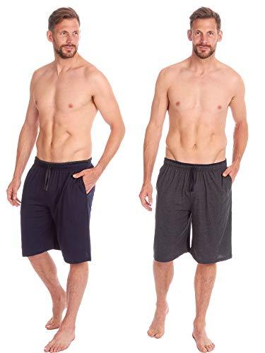 Insignia - Pantalones Cortos de Pijama para Hombre (2