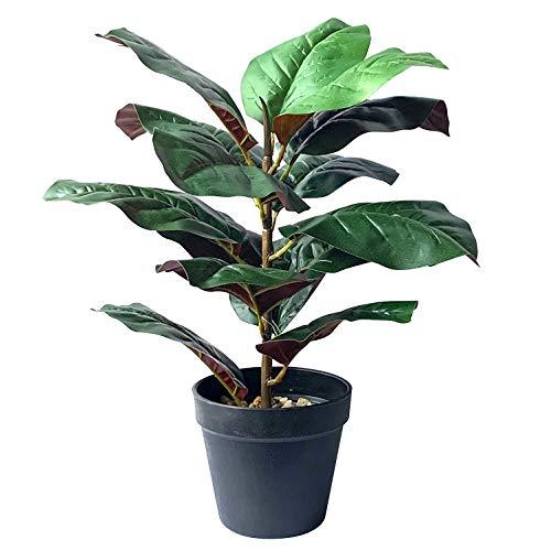 15' Tall Fiddle Leaf Fig Tree Artificial Plants Fake Bonsai