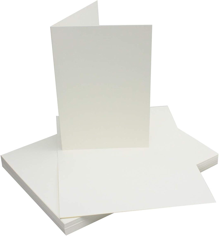 DIN A5 Faltkarten - Naturweiß   500 Stück Stück Stück   Einladungskarten - Menükarten - Kirchenheft - Blanko   14,8 x 21 cm   formstabil   für Drucker geeignet   Premium Qualitätsmarke  NEUSER FarbenFroh® B07BLXWKQ3 | Lassen Sie unsere P 3118d1