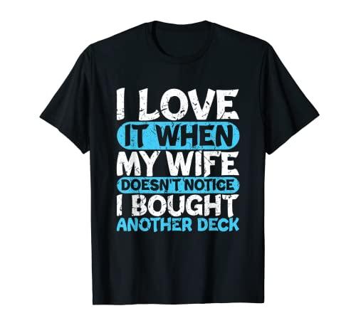 面白いトレーディングカードゲーム TCG I Love My Wife Tシャツ