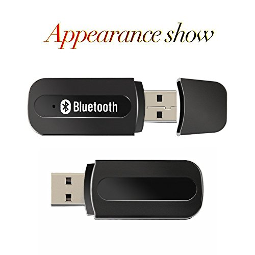 Find Discount Bluetooth Adapter Receiver,URANT Car Kit Mini USB Wireless Audio Adapter Bluetooth Mus...