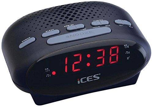 iCES ICR-210 black Radiowecker