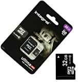 Acce2s - Carte Mémoire Micro SD 32 Go classe 10 pour WIKO Harry - Tommy 2 - Freddy - Tommy - Robby - Sunny - Jerry -...