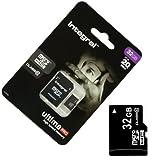 Acce2s - Carte Mémoire Micro SD 32 Go Classe 10 pour Samsung Galaxy A10 - A40 - A50 - A70 - A20e - A9 (18) - A7 2018 - A6 Plus - A6 - A8 2018 - A8 - A5 2017 - A3 2017 - A7 2017 - A3 2016 - A5 2016