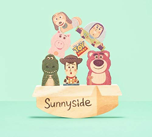 Disney KIDEA BALANCE GAME トイストーリー ピクサー ディズニー キディア つみき 木製玩具 知育玩具 子ども 男の子 女の子 バランスゲーム 出産祝い ベビーギフト プレゼント TYKD00402