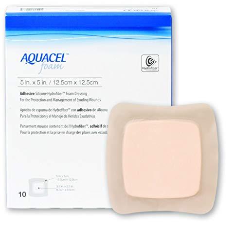 20cm x 17cm AQUACEL foam dressing adhesive sacral 8 x 7