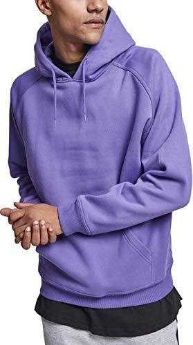 Urban Classics Herren Kapuzenpullover Blank Hoodie, Farbe ultraviolet, Größe L