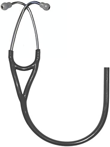 Replacement Tube by Reliance Medical fits Littmann® Cardiology III® Stethoscope (All Black) Black Edition