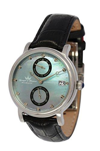 Yonger & Bresson Damen-Armbanduhr Largentière Analog Automatik Leder YBD 8521-01 VS
