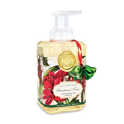 Michel Design Works Scented Foaming Hand Soap, Christmas Time
