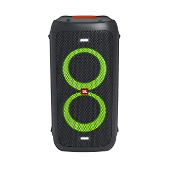 JBL Partybox 100 High Power Portable Wireless Bluetooth Audio System - Black  Renewed
