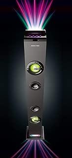 Sharper Image SBT1035BK Rainbow Light Show Wireless Speaker
