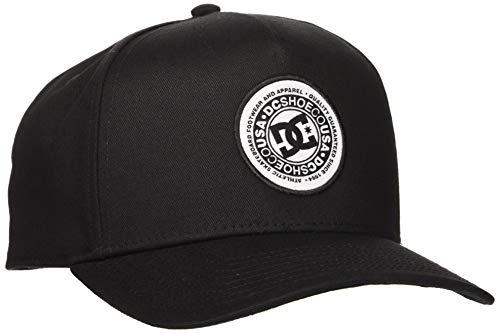 DC Shoes Herren Cap Reynotts - Snapback-Kappe für Männer, Black, 1SZ, ADYHA03903