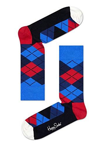 Happy Socks Argyle Sock 067 Chaussettes, Multicolore, 41-44 (Taille du Fabricant:41-46) Homme
