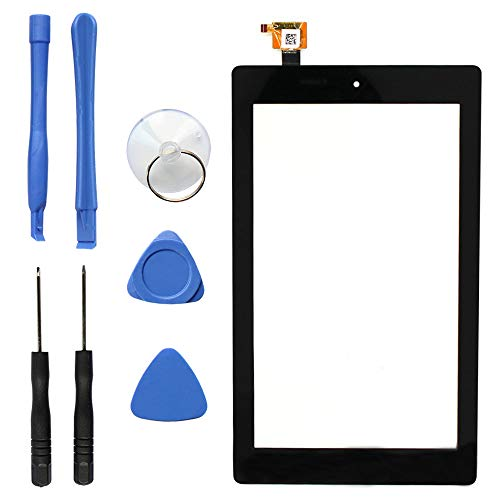 S-Union New Digitizer Screen Replacement for Amazon Fire 7th Gen SR043KL 7