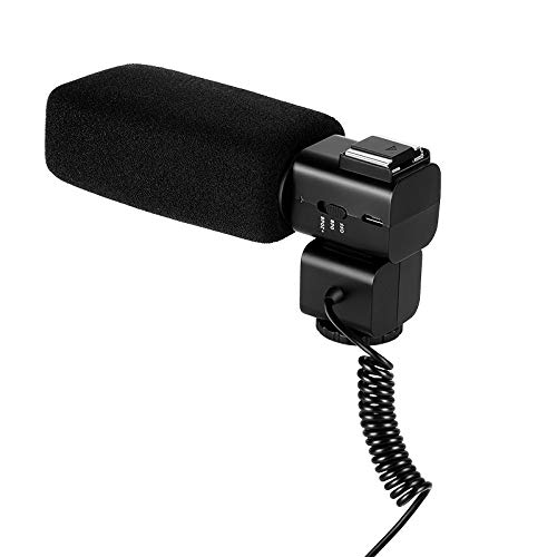 Rabusion Electronics For CM530 Video Recording Stereo Microphone for DSLR Stereo Camera Camcorder Cardioid Mic for Ordro/Sony/Nikon/Canon DV