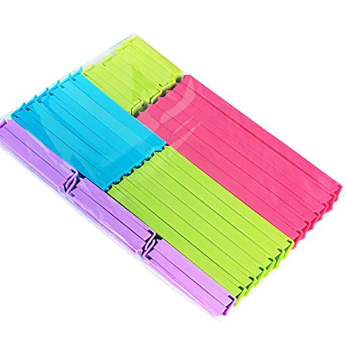 Otylzto 5 Size Assorted 31 PCS Food Bag Clips Bag Sealing ClipsKitchen Clips for Bags