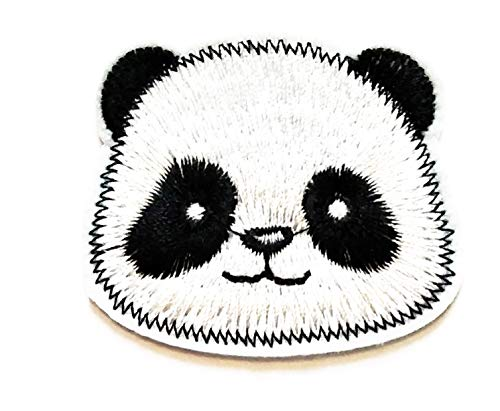 Fantastic Prices! Nipitshop Patches Cute Head Chinese Panda Animal Cartoon Kids Patch Embroidered Ir...