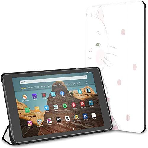 Estuche para Tableta Piggy Pig Sock Gift Fire HD 10 (9.a / 7.a generación, versión 2019/2017) Estuche para Tableta Fire HD 10 Cubierta para Fire HD 10 Auto Wake/Sleep para Tableta de 10.1 Pulgadas