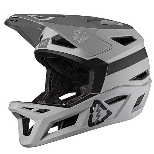 Leatt 1019302593 MTB Helme Unisex Erwachsene, Stahlgrau, Größe: XL