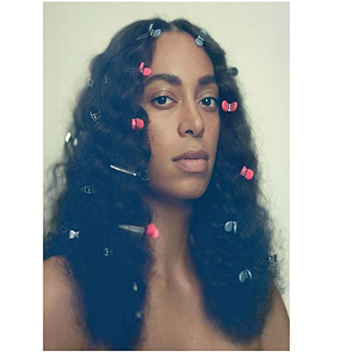 Yhyxll Solange A Seat at The Table Music Album Star Painting Poster Art Poster Canvas Home Decor Wall Picture Print-40X60Cm No Frame