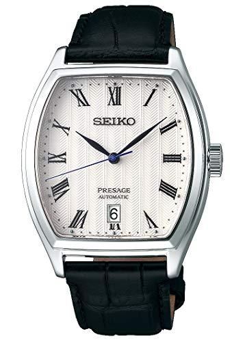 Seiko Reloj Analógico para Hombre de Automático con Correa en Cuero SRPD05J1