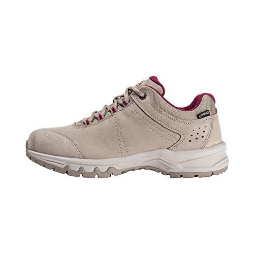 Mammut Nova III GTX, Zapatos de Low Rise Senderismo para Mujer, Beige (Safari-Dark Sundown 7467), 38 EU