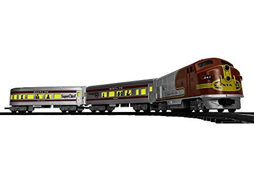Lionel Santa Fe Diesel Battery-powered Model Train Set Ready to Play w/ Remote