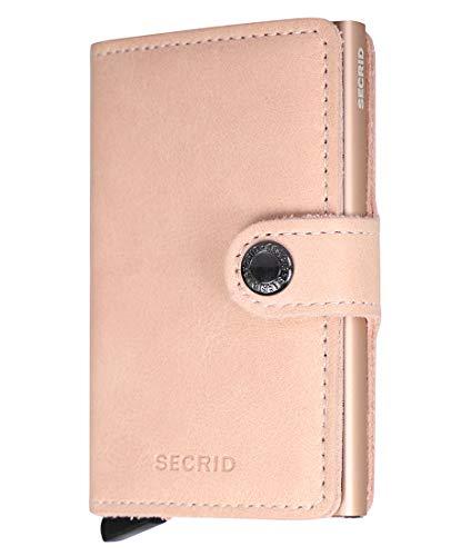 Secrid Secrid Vintage Miniwallet Börse mit RFID Schutz 6.5 cm Rose