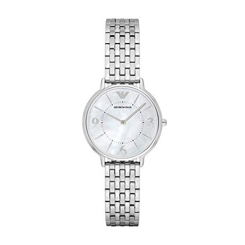 Emporio Armani Reloj Analogico para Mujer de Cuarzo con Correa en Acero Inoxidable AR2507