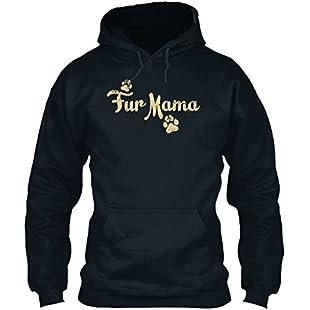 teespring Fur Mama T Shirt, Dog Cat Lover Mom Tee Sweatshirt - 2XL - French Navy - Standard College Hoodie:Isfreetorrent