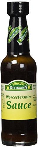Feinkost Dittmann Worcestershire-Sauce Flasche, 5er Pack (5 x 100 ml)