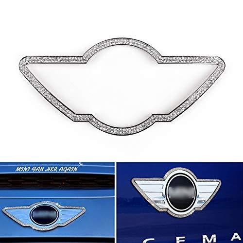 Topteng Fronthaube Wing Decor Emblem Aufkleber Trim für Mini Coo-per R60/R61/F55/F56/F54