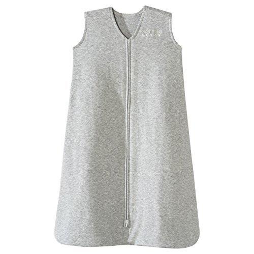 Halo Sleepsack 100% Cotton Wearable Blanket, Heather Grey, Medium