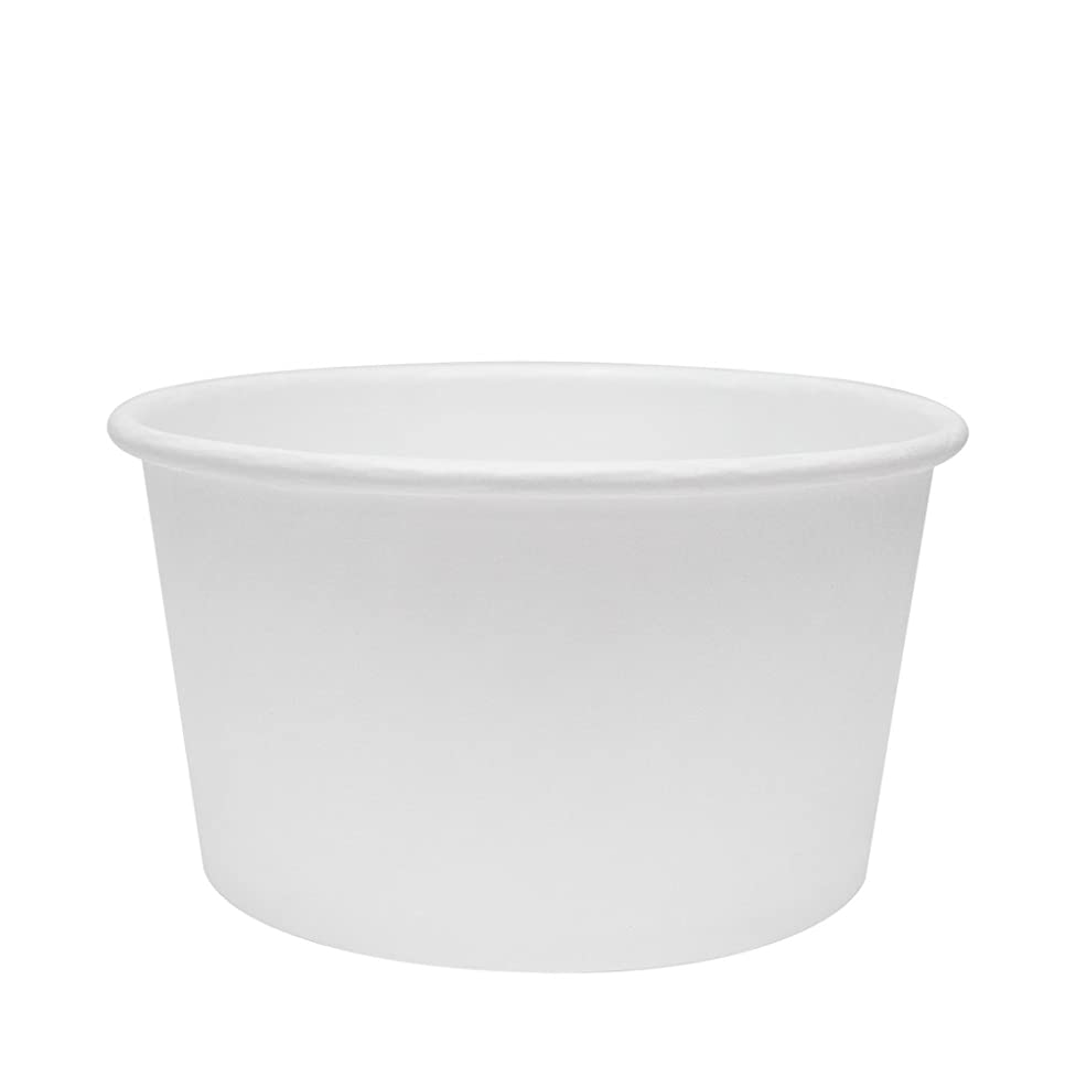 Karat Earth KE-KDP12W 12 oz Paper Food Containers - White (Case of 500)