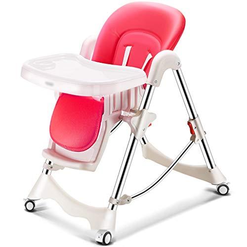 JIE KE Silla de Comedor para niños Silla portátil Multifuncional Plegable para bebé Asiento de Mesa IKEA