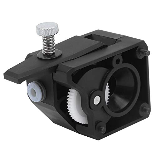 Durable Extruder Kit Clone Double Gearwheel Extruder 3D Printer Extruder Kit Black for Creality 3D CR10 / Ender Series