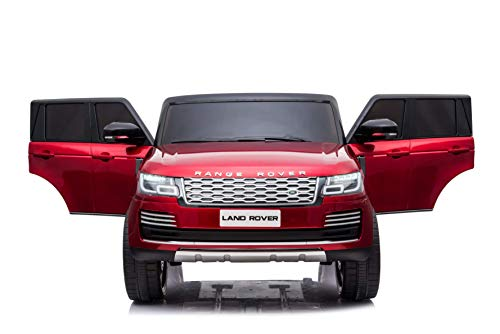 Limited Edition 24V Range Rover Electric Ride On Car for Babies and Kids Two Seater -Painted Red...