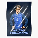 France Madrid Football Soccer Vector Griezmann Antoine Home