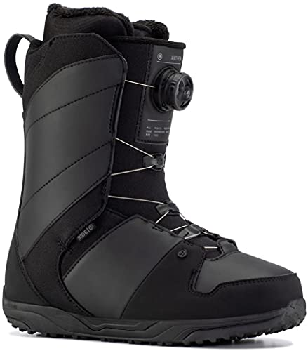 Ride Anthem Mens Snowboard Boots 9.5 Black
