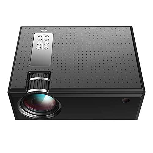 Mini Proyector para teléfono, proyector de películas WIFI con sincronización de la pantalla del teléfono inteligente, proyector portátil HD admitido 200 ', compatible con Android / iOS / HDMI / USB /
