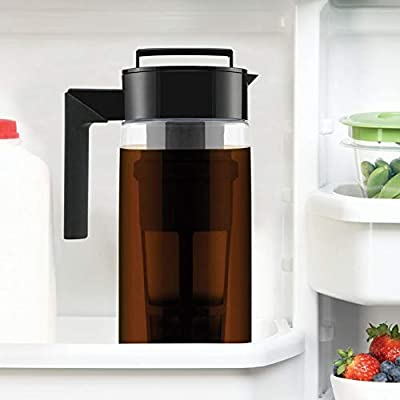 900ML Cold Brew Coffee Maker With Airtight Seal...