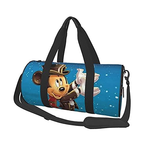 Bolsa de Lona de Dibujos Animados Folle Gym Bag Bolsas de Viaje, para Deporte, Militar, Acampar, Actividades al Aire Libre, Bolsa de Asas, Juegos de 17,7 x 9 Pulgadas