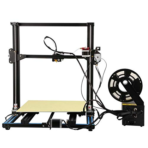 XYANZ 3D Printer Semi Assembled,Open Source Single Extruder,Printing Size 500 * 500 * 500mm,with Magnetic Build Surface Plate And UL Certified Power Supply Metal DIY Printers,Blue